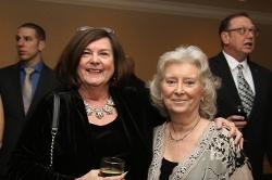 Paula Manolakos and Secretary of KCRC Bonnie McCann