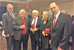 33 Rep. District Rep. Charles Postles; Commissioner Glen Howell, 6th Levy Court District; Dave Hake; Cheryl and Bill Precourt.
