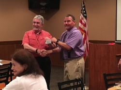 Vice Chair Pat Donahue did the Chairman's Challenge for July 2017!