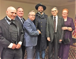 1863 Del Rep. Nathaniel B. Smithers (Michael Schmiedlin); Chuck Boyce; Richard Forsten; 1860s Del Gov. William Laws Cannon (Brandon Streets); Lee and Margaret Dean.